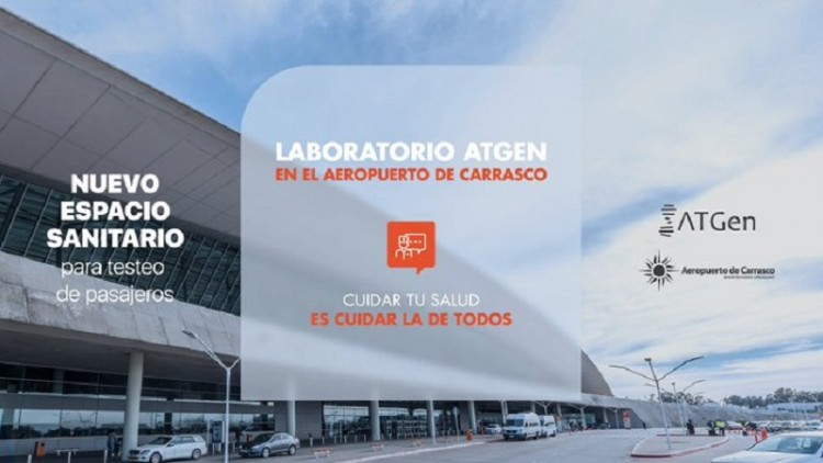 Aeropuerto de Carrasco instaló laboratorio para realizar tests PCR